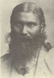 Click to Read another Spiritual Science Review; Photo of Hazrat Inayat Khan from 'The Mysticism of Sound' book