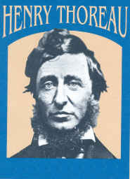 Click to return to ARJ Page,  File Photo of Henry David Thoreau