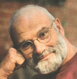 Click to return to ARJ Page, Cover Photo of Oliver Sacks, from Jacket Design of Island of Colorblind by Chip Kidd