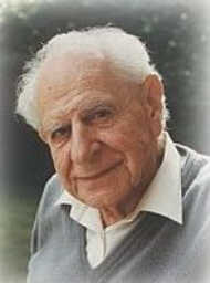Click to return to ARJ Page, File Photo of Karl Popper