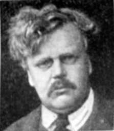 Click to return to ARJ Page, File Photo of Gilbert Keith Chesterton