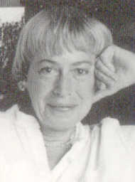 Click to return to ARJ Page, Photo of Ursula K. Le Guin from Book Cover copyright by Marian Kousch