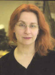 Click to return to ARJ Page, Photo of Audrey Niffenegger Copyright 2003 by Dennis Hearne, cropped  from bookjacket