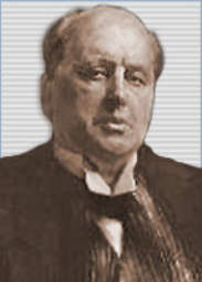 Click to return to ARJ Page, File Photo of Henry James