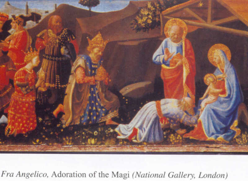 Plate 1 Fra Angelico, Adoration of the Magi (National Gallery, London)