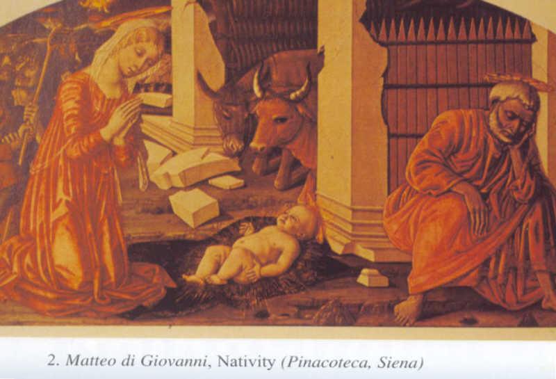Plate 2 Mateo di Giovanni, Nativity (Pinacoteca, Siena)