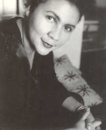 Click to return to ARJ2 ToC; Photo of bell hooks from  bookjacket,  Credit: B. W. Maxham
