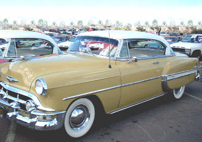 Click to Read the Next Essay of the Book of Calvin, 1953 Chevy