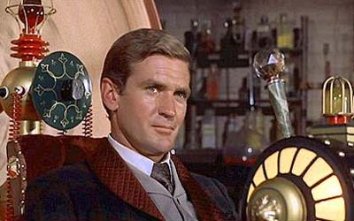 Click to Read the next Essay of the Book of Calvin, Photo of Rod Taylor in movie, 'The Time Machine'