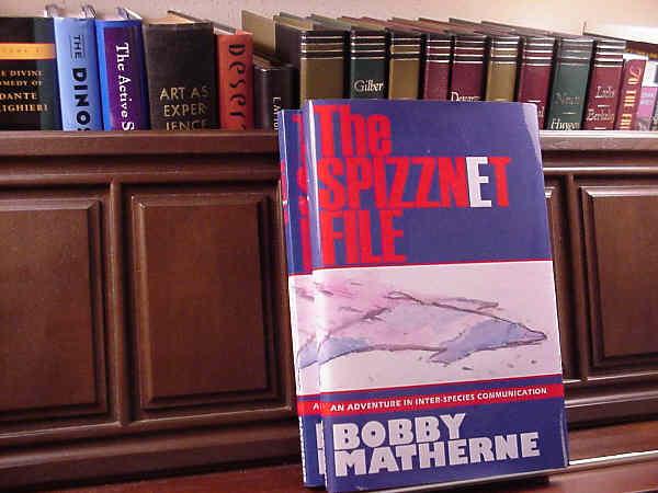Hardback Book: The Spizznet File