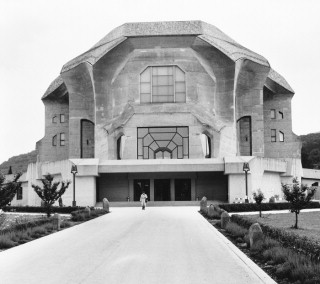 Photo of Second Goetheanum constructed of concrete to replace the wooden structure which burned down