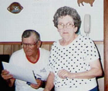 Photo of T-Al and Clarise Bascle, Photo by Bobby